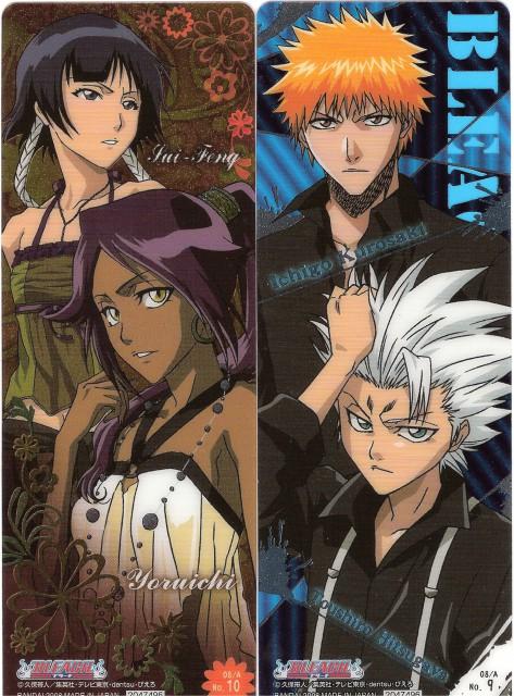 Studio Pierrot, Bleach, Soi Fong, Toshiro Hitsugaya, Yoruichi Shihouin