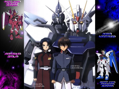 Sunrise (Studio), Mobile Suit Gundam SEED, Kira Yamato, Athrun Zala Wallpaper