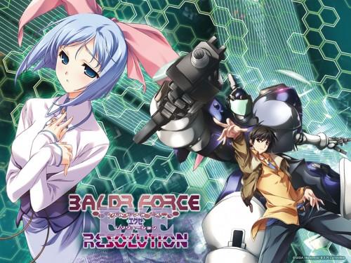 Giga, Baldr Force, Toru Souma, Ren Mizusaka, Official Wallpaper