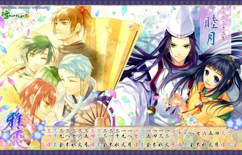 Miyako (Game), Izumi Miya, Genshin, Abe no Seimei (Miyako), Sayuki Sangou Shikigami