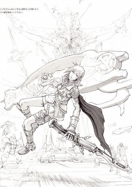 Square Enix, Final Fantasy XIII, Snow Villiers, Lightning (FF XIII), Serah Farron