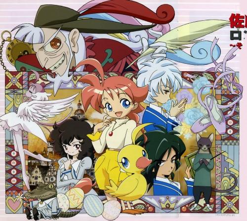 Hal Film Maker, Princess Tutu, Ahiru Arima, Neko-sensei, Rue Kuroha