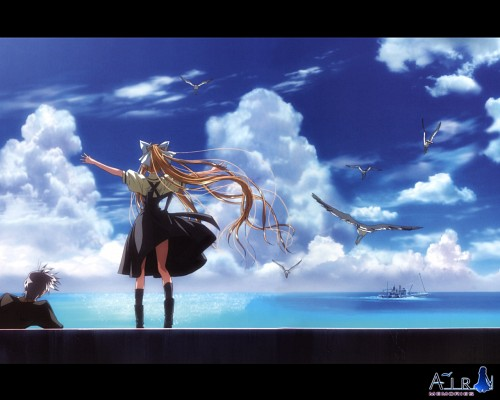 Key (Studio), Kyoto Animation, Air, Yukito Kunisaki, Misuzu Kamio