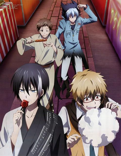 Tanaka Strike, Servamp, Hyde (servamp), Licht Jekylland Todoroki, Kuro (Servamp)