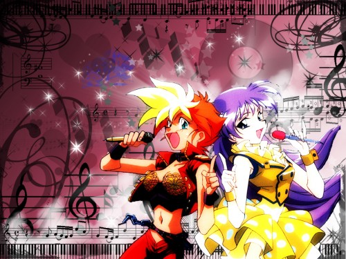 Takahiro Kimura, Sunrise (Studio), Dirty Pair, Yuri (Dirty Pair), Kei (Dirty Pair) Wallpaper