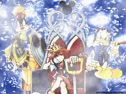 Square Enix, Kingdom Hearts, Goofy, Donald Duck, Sora Wallpaper
