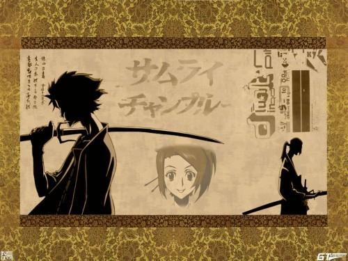 Samurai Champloo, Mugen, Fuu, Jin Wallpaper