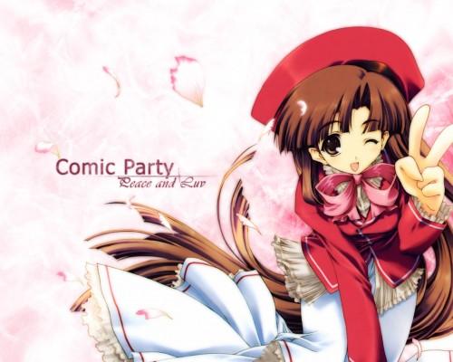 AQUAPLUS, Comic Party, Subaru Mikage Wallpaper