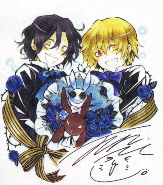 Jun Mochizuki, Xebec, Pandora Hearts, Vincent Nightray, Gilbert Nightray
