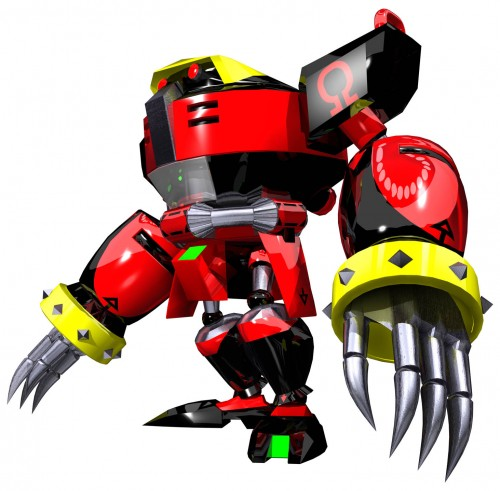 Sega, Sonic Series, E-123 Omega, Official Digital Art