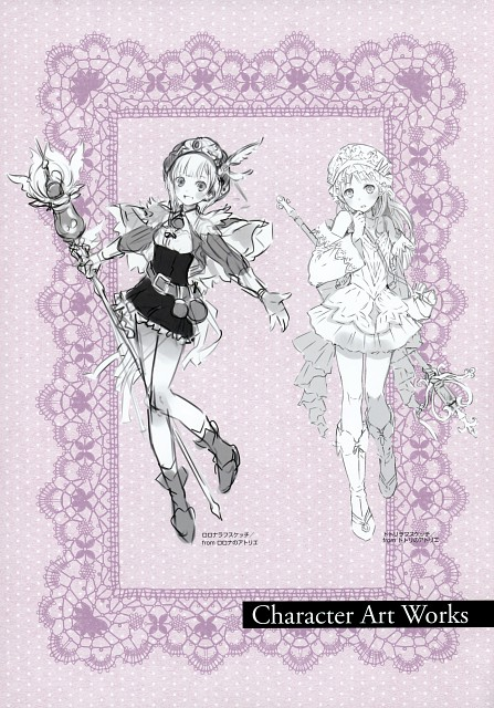 Mel Kishida, Gust, Atelier Rorona & Totori Art Book, Atelier Rorona, Atelier Totori