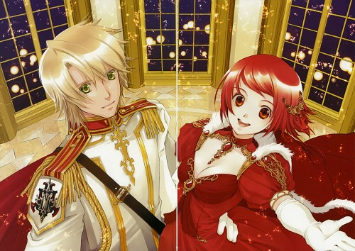 You Shiina, Kouga no Ruby Wolf, Garnet - You Shiina's Illustrations, Shatina Ray Scarlett Gradius, Jade Korkott