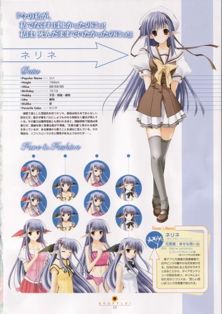 Hiro Suzuhira, Navel (Studio), Shuffle! Visual Fan Book, Shuffle!, Nerine