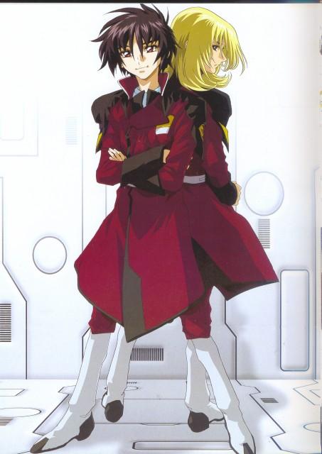 Sunrise (Studio), Mobile Suit Gundam SEED Destiny, Hisashi Hirai Illustration Works, Shinn Asuka, Rey Za Burrel