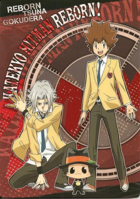 Katekyo Hitman Reborn!, Reborn (Character), Hayato Gokudera, Tsunayoshi Sawada, Leon (Katekyo Hitman Reborn!)