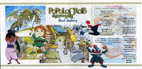 PoPoLoCrois, Pietro PakaPuka, White Knight (PoPoLoCrois), GamiGami Devil, Gazette
