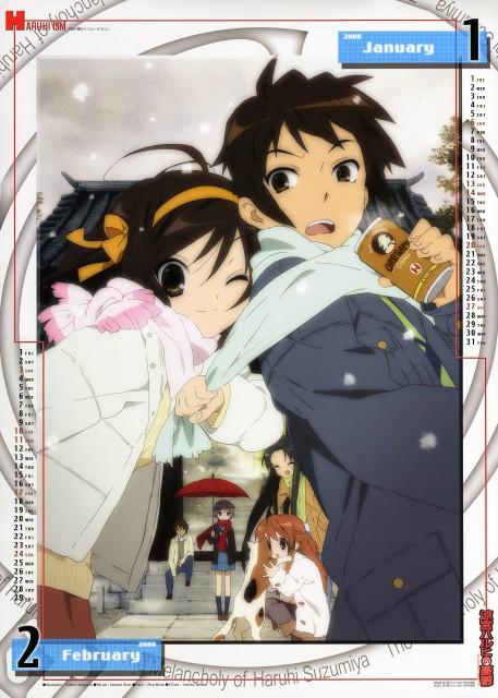 Yukiko Horiguchi, Kyoto Animation, The Melancholy of Suzumiya Haruhi, Suzumiya Haruhi No Yuuutsu 2008 Calendar, Tsuruya