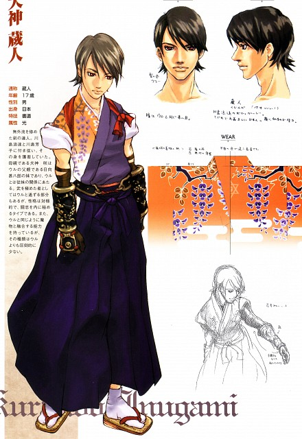 Sacnoth, Shadow Hearts, Kurando Inugami, Character Sheet