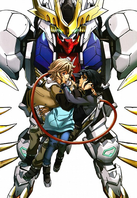 Kazuma Isobe, Sunrise (Studio), Mobile Suit Gundam: Iron-Blooded Orphans, Gundam Ace Iron-blooded Orphans Illustration Collection, Atra Mixta
