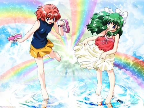 Onegai Twins, Karen Onodera, Miina Miyafuji Wallpaper