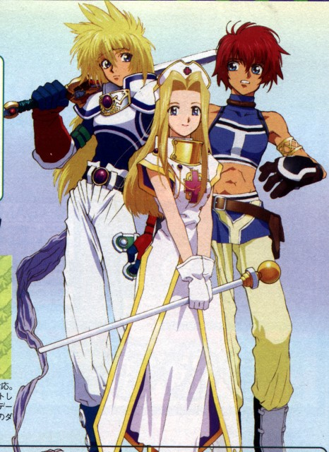 Namco, Xebec, Tales of Destiny, Tales of Eternia, Tales of Phantasia