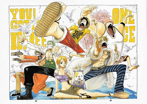 Eiichiro Oda, Toei Animation, One Piece, Color Walk 3 - Lion, Roronoa Zoro