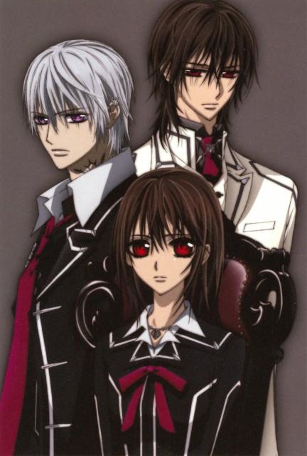 Asako Nishida, Vampire Knight, Yuuki Cross, Kaname Kuran, Zero Kiryuu