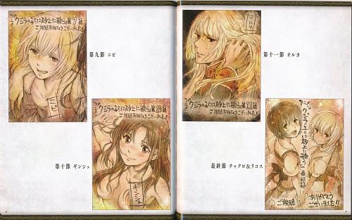 Abi Umeda, J.C. Staff, Kujira no Kora wa Sajou ni Utau, Orca (Kujira), Nibi (Kujira)