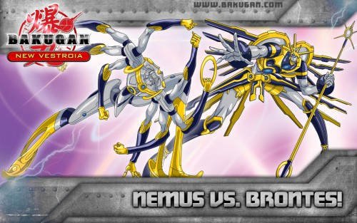 TMS Entertainment, Bakugan, Brontes, Nemus, Official Wallpaper