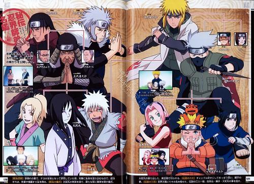 Studio Pierrot, Naruto, Naruto Juunen Hyakunin, Hashirama Senju, Gamakichi