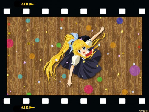 Key (Studio), Air, Misuzu Kamio, Vector Art Wallpaper