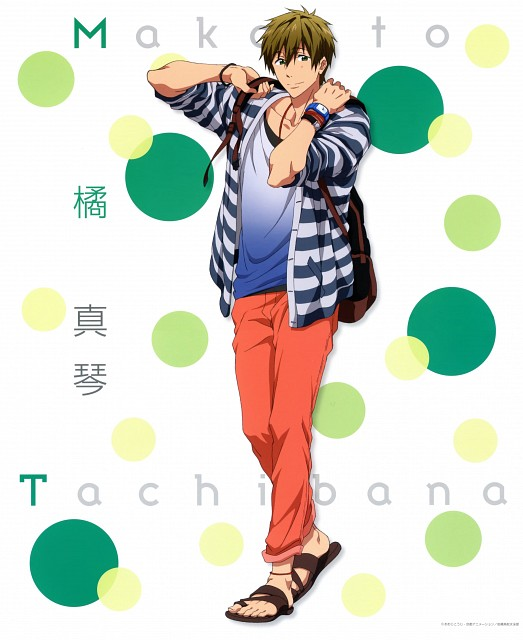 Kyoto Animation, Free!, Makoto Tachibana, Album Cover