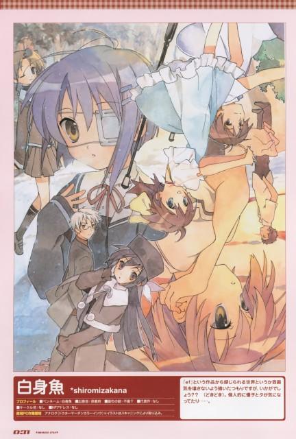 Shaft (Studio), ef - a fairy tale of the two., Chihiro Shindou, Kyosuke Tsutsumi, Yuu Himura