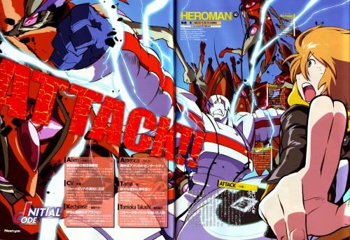 BONES, Heroman, Heroman (Character), Joseph Carter Jones, Magazine Page