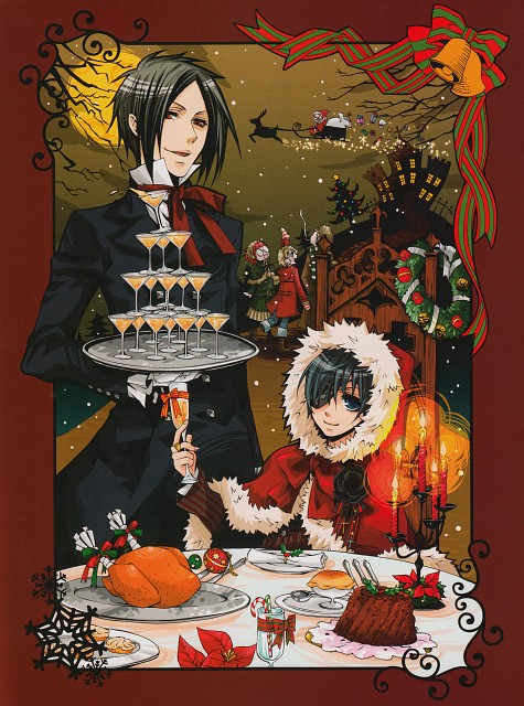 Yana Toboso, Kuroshitsuji, Black Butler Artworks 1, Maylene, Ciel Phantomhive