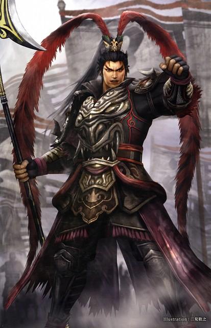 Koei, Dynasty Warriors, Lu Bu, Official Digital Art