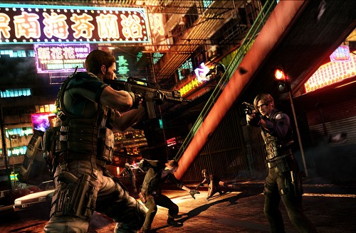 Capcom, Resident Evil 6, Chris Redfield, Piers Nivans, Helena Harper