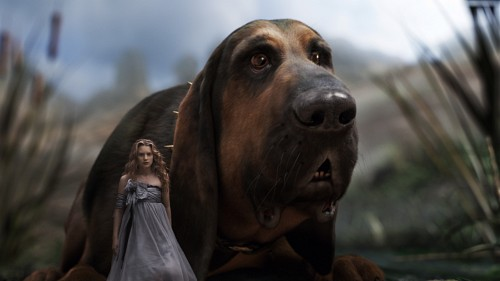 Disney, Alice In Wonderland (2010 Film), Alice, Bayard, Live Action