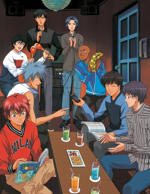 Takeshi Konomi, J.C. Staff, Prince of Tennis, Masaharu Niou, Jackal Kuwahara