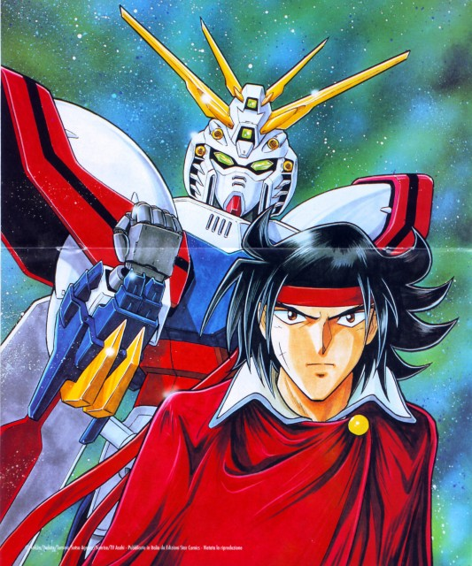 Mobile fighter g gundam domon and the shining gundam for Domon television