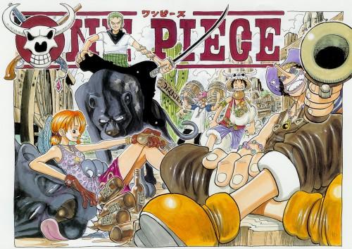Eiichiro Oda, Toei Animation, One Piece, Color Walk 1, Usopp