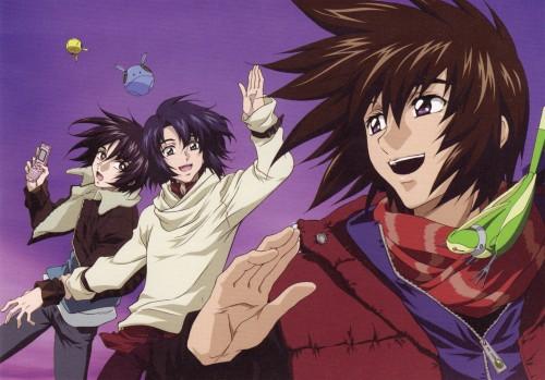 Sunrise (Studio), Mobile Suit Gundam SEED Destiny, Torii (Gundam SEED), Shinn Asuka, Athrun Zala