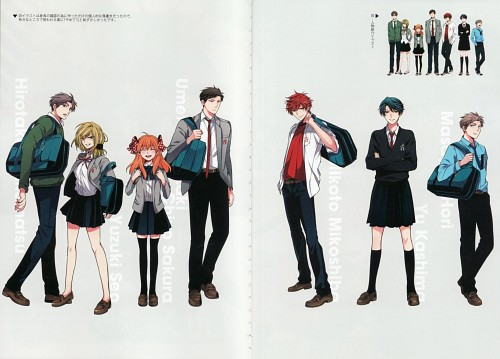 Izumi Tsubaki, Dogakobo, Gekkan Shoujo Nozaki-kun, Gekkan Shoujo Nozaki-kun Official Fan Book, Chiyo Sakura