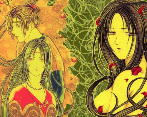 Yuu Watase, Ayashi no Ceres, Ceres (Ayashi no Ceres), Mikagi Wallpaper