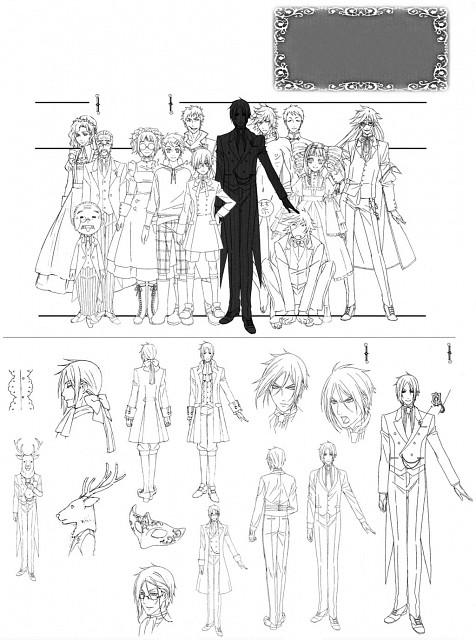 A-1 Pictures, Kuroshitsuji, Bardroy, Lau, Tanaka