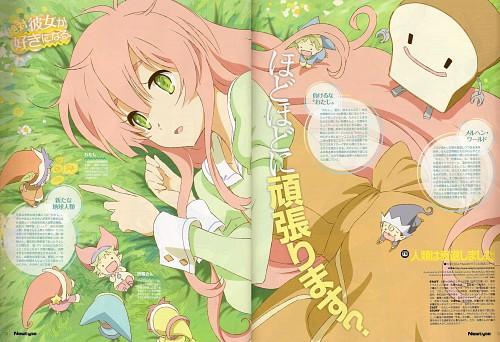 Kyuuta Sakai, Anime International Company, Jinrui wa Suitai Shimashita, Protagonist (Jinrui wa Suitai Shimashita), Magazine Page