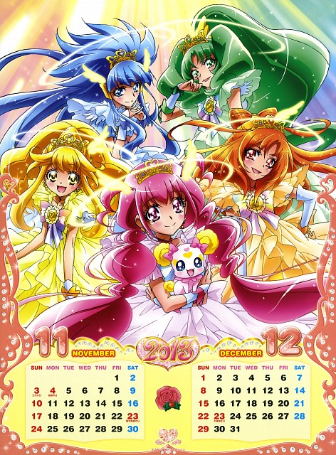Toei Animation, Smile Precure!, Cure Happy, Candy (Smile Precure!), Cure March