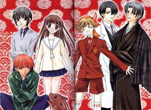 Natsuki Takaya, Fruits Basket, Momiji Sohma, Kyo Sohma, Yuki Sohma