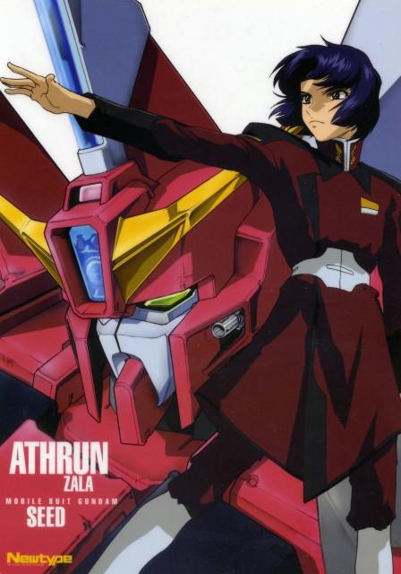 Sunrise (Studio), Mobile Suit Gundam SEED, Athrun Zala, Newtype Magazine