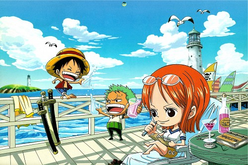 Eiichiro Oda, Toei Animation, One Piece, Nami, Roronoa Zoro